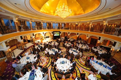 7-star hotel Burj-Al-Arab ballroom