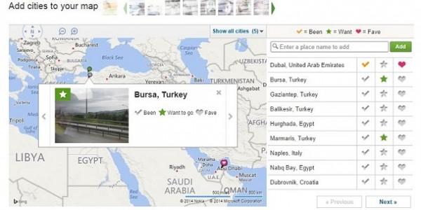 نقشه تریپ ادوایزر