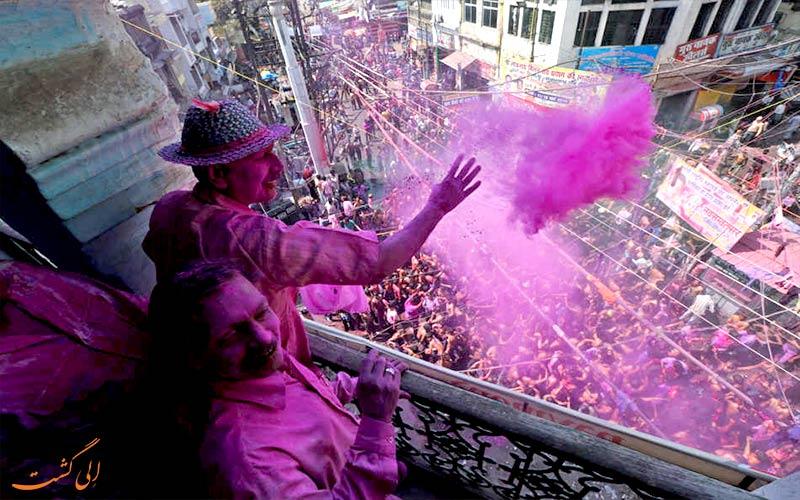جشن هولی-holi در هند