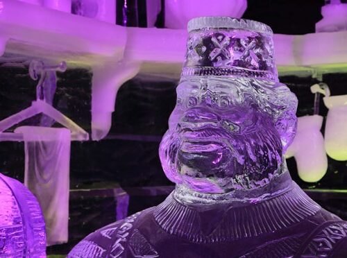 Ice Wonderland Sculpture Festival