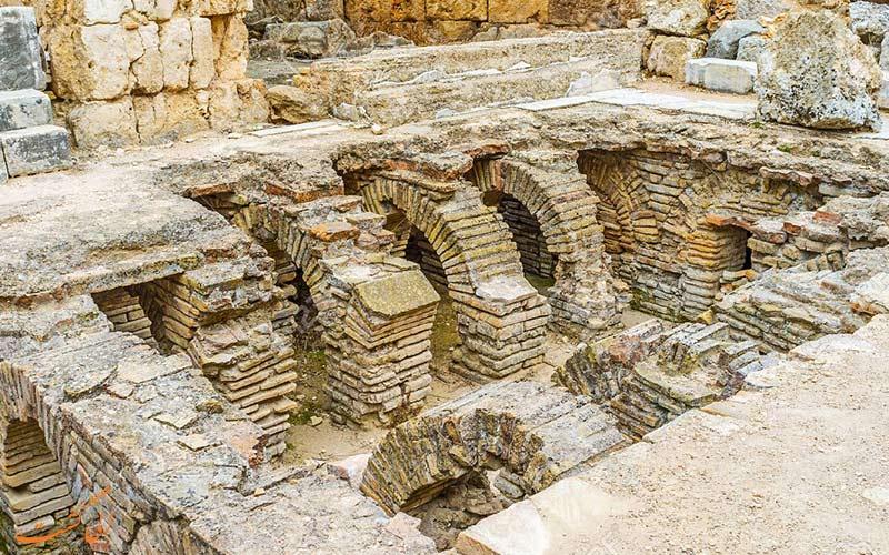 حمام رومی ها