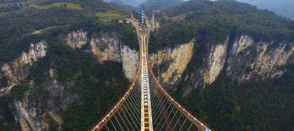 پل شیشه ای چین