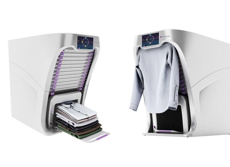 دستگاه تا کردن لباس