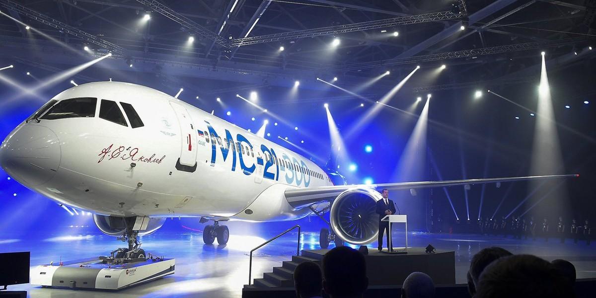 هواپیمای جدید روسیه