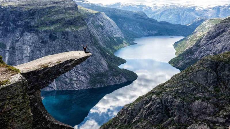 صخره ترولتانگا   نروژ