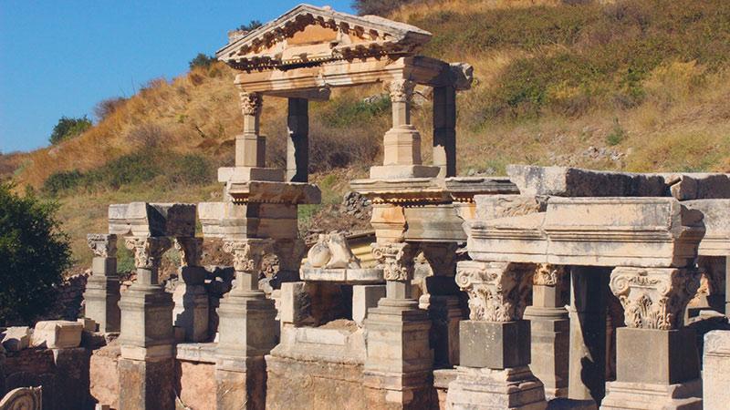 شهر باستانی افسوس در ترکیه