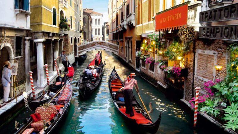 قایق سواری در ونیز