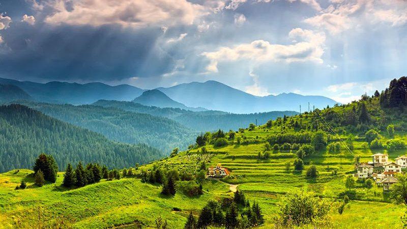 کوهستانهای بلغارستان