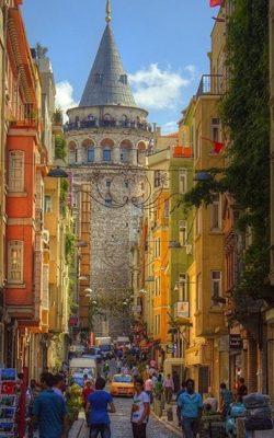 کوچه پس کوچه های استانبول