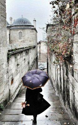 استانبول زیر باران