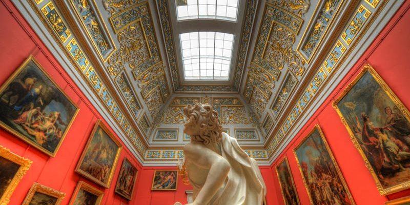 نمایی از موزه هرمیتاژ