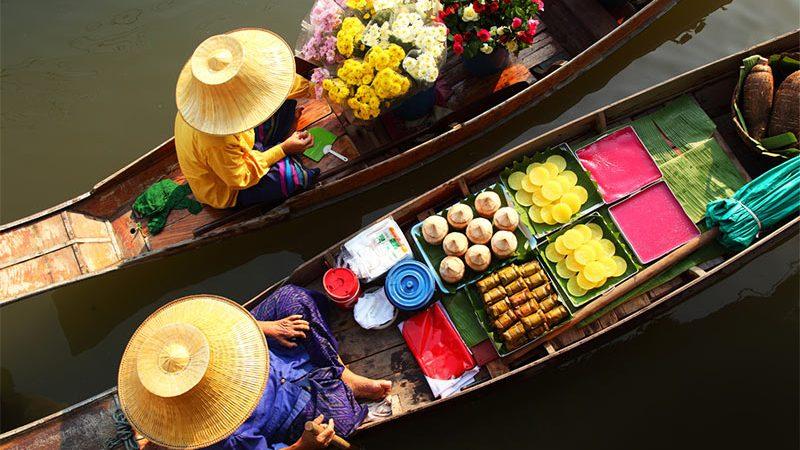 بازارهای روی آب تایلند