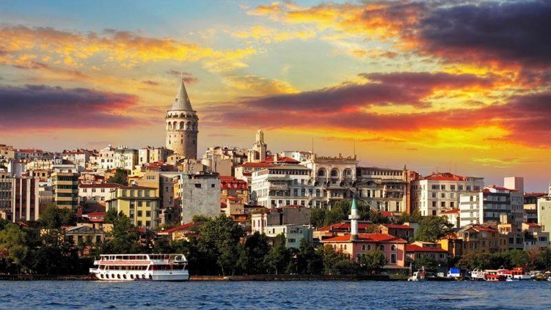 قایق سواری در استانبول