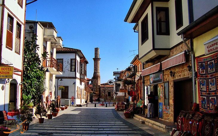شهر قدیمی در آنتالیا