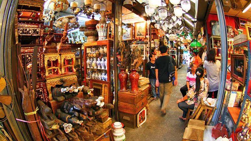 بازاری در تایلند