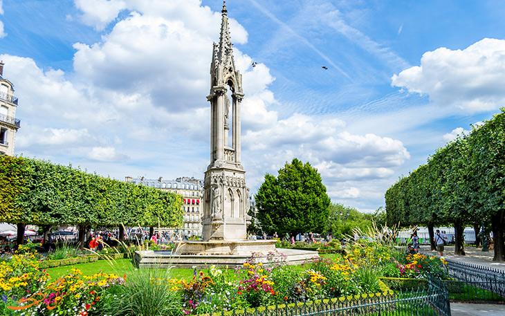 آب و هوای شهر پاریس