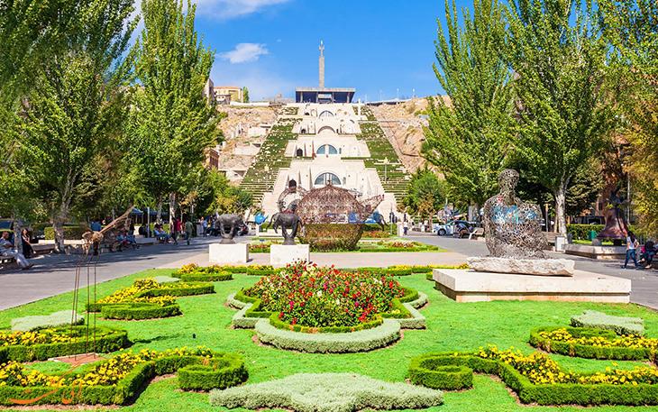 راهنمای سفر به ایروان
