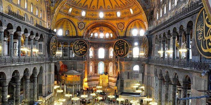 مسجد زیبای ایا صوفیه در استانبول