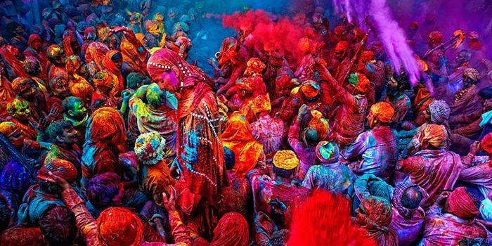 فستیوال رنگها در هند
