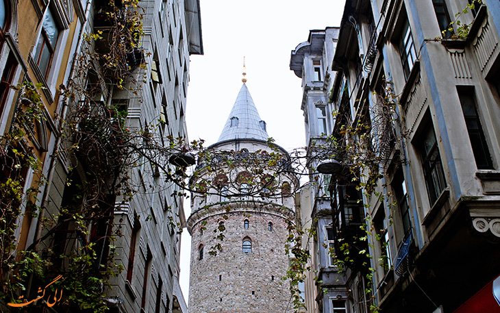 بازدید از برج گالاتا در استانبول