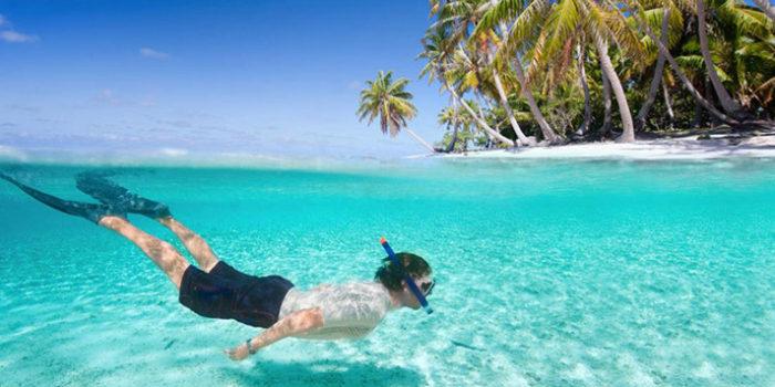 ورزش های آبی در مالدیو