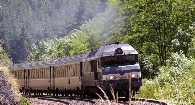 قطاری در کانادا
