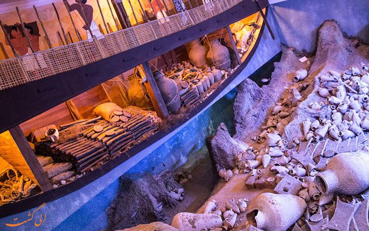 موزه آثار باستاني زير آب