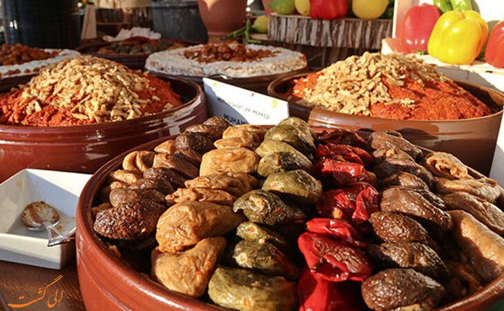 هزینههزینه خورد و خوراک در آنتالیا خورد و خوراک در آنتالیا