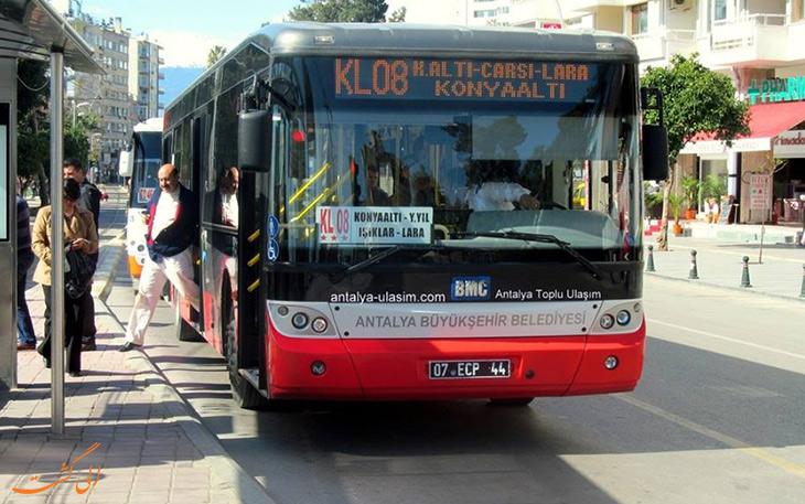 هزینه حمل و نقل در آنتالیا