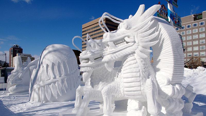 جشنواره سازه های برفی