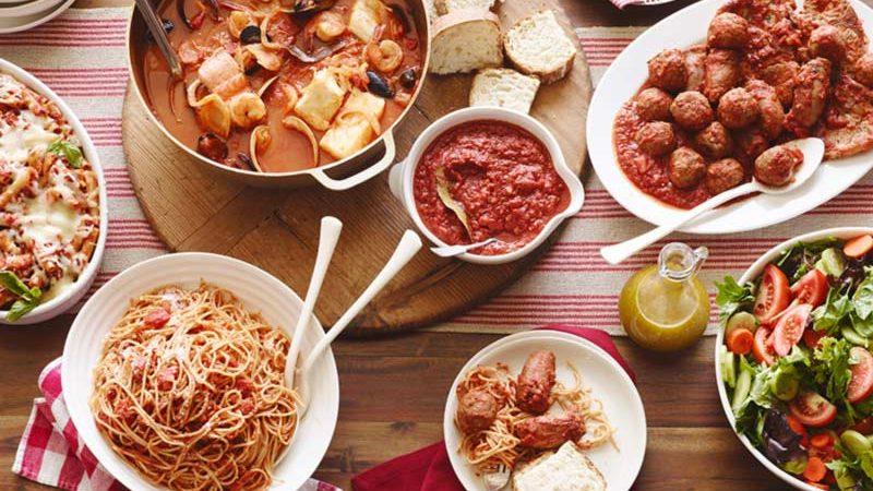 تنوع غذایی ایتالیا
