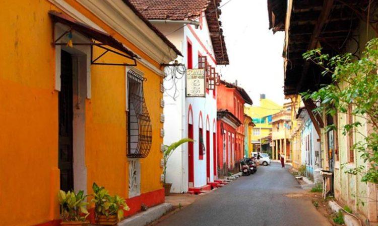خیابان های پرتغالی گوا