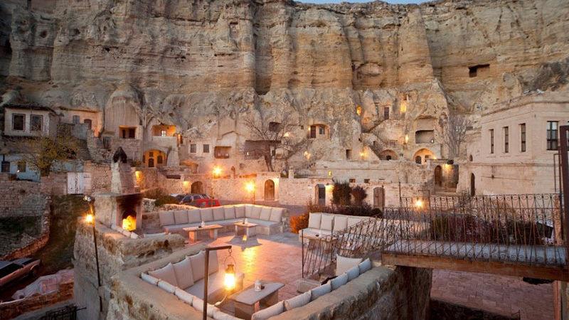 غارهای کاپادوکیه