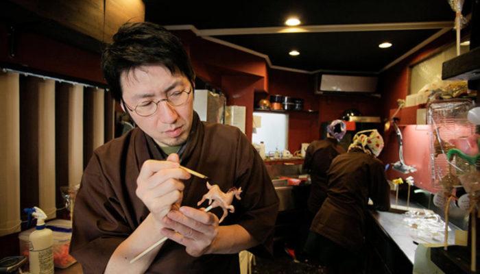 هنرمند ژاپنی