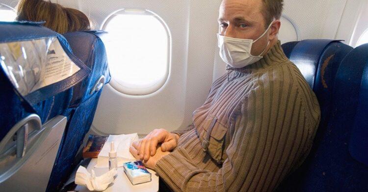 سرماخوردگی در هواپیما