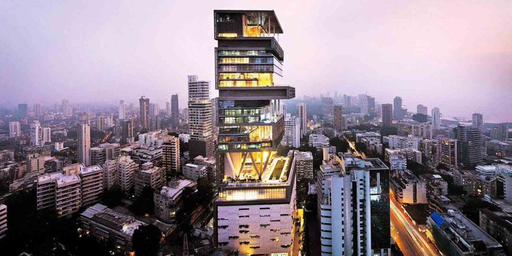 Antilia-tower