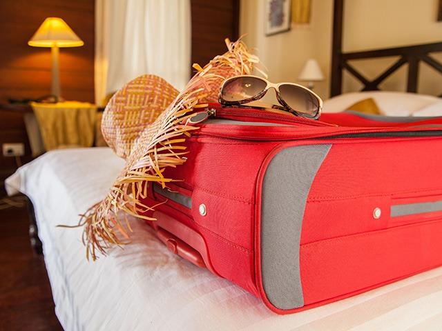 چمدان در سفر