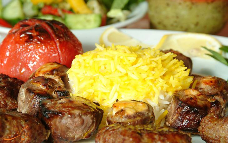 رستوران ایران زمین دبی