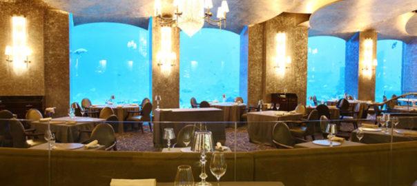 رستوران های هتل آتلانتیس