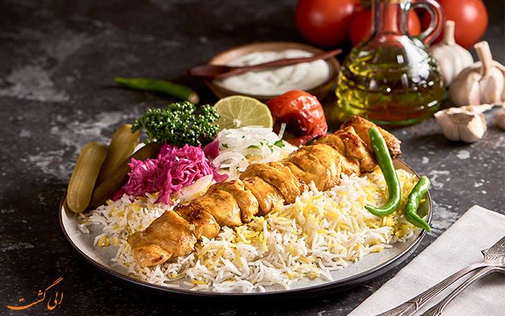 رستوران پارس دبی