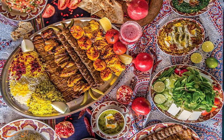 رستوران شبستان دبی