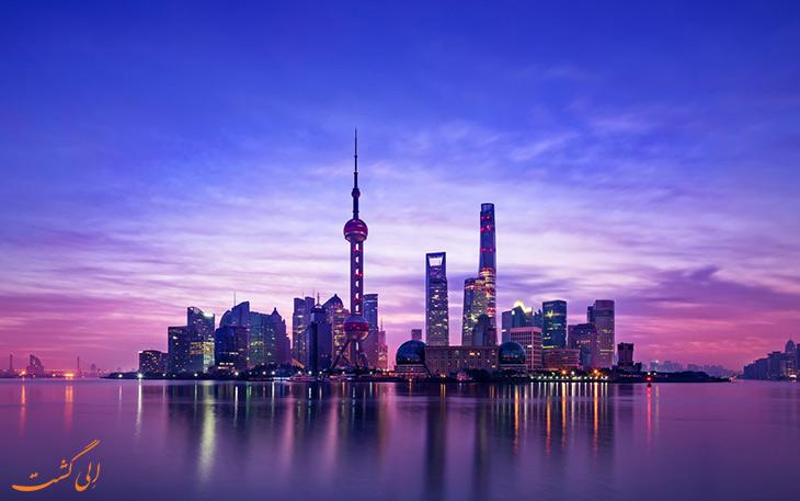 شهر شانگهای در چین