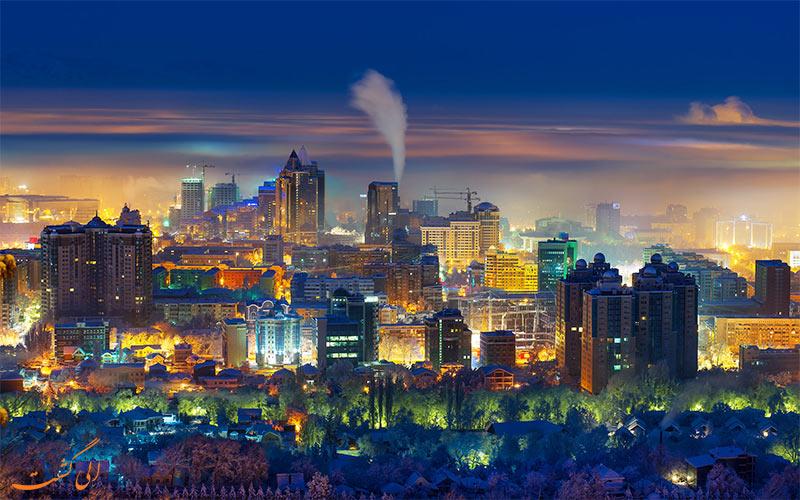 آلماتی-قزاقستان- سفر به آلماتی