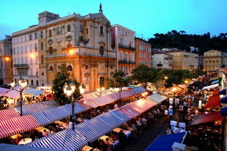 کورس سالیا (Cours Saleya)