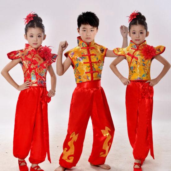 پوشش چینی ها