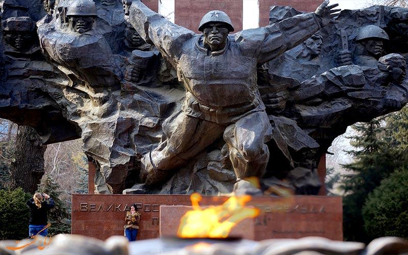 سرباز پیاده ارتش سرخ- سفر به آلماتی- قزاقستان