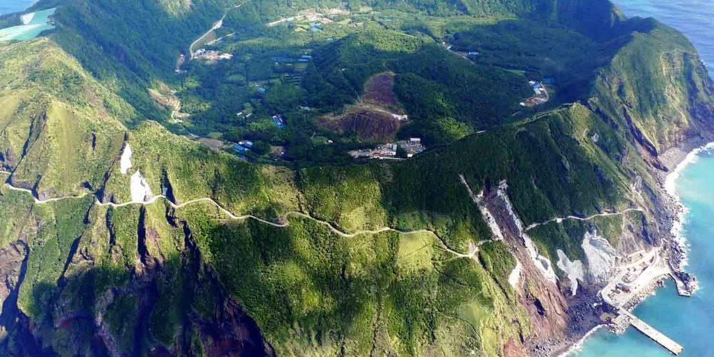 Aogashima-Volcano
