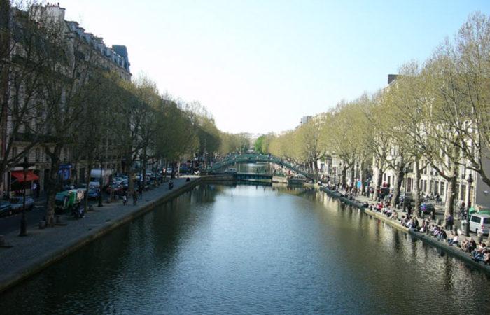 کانال سنت مارتین در پاریس