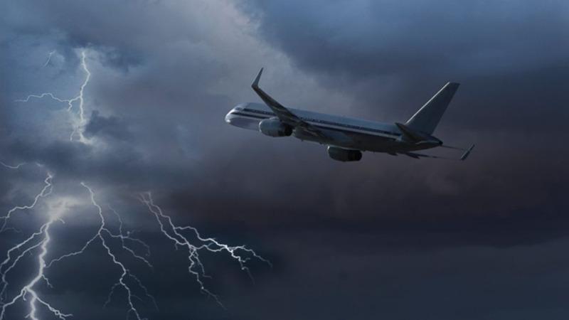 Image result for هوای بد در هواپیما