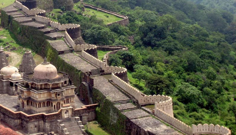 Great wall of India, Kumbhalgarh Fort
